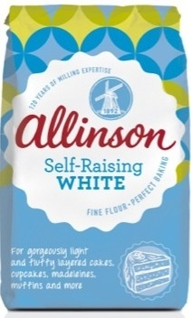 ALLINSON Self-Raising White Flour 1KG