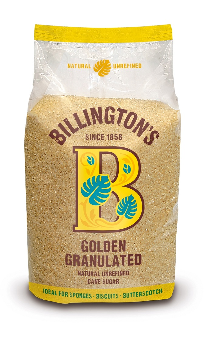 BILLINGTON'S Natural Golden Granulated 1KG